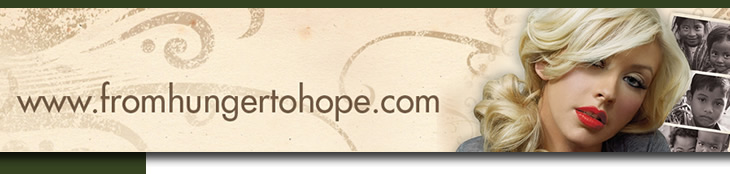 From Hunger to Hope banner