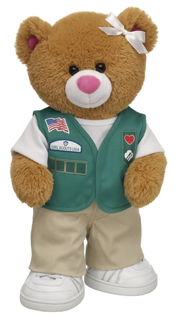 Build A Bear Junior Girl Scout