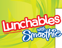 Lunchables with Smoothie